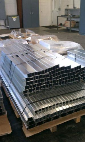solar panel parts ready for shipment